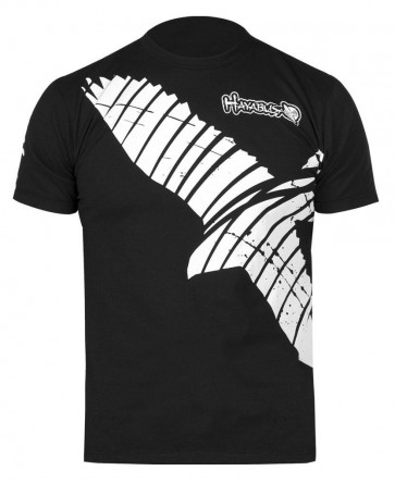 Hayabusa 'Winged Strike' maglia nera