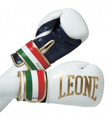 Leone 'Italy' guantoni 10oz bianchi