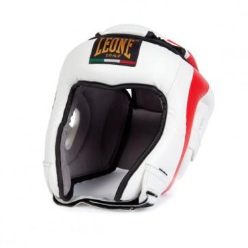 Leone 'Revolution' caschetto bianco