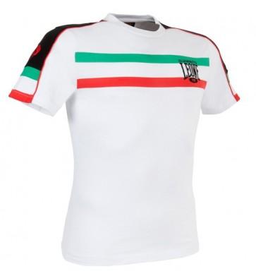 Leone 'Italian Flag' maglia bianca