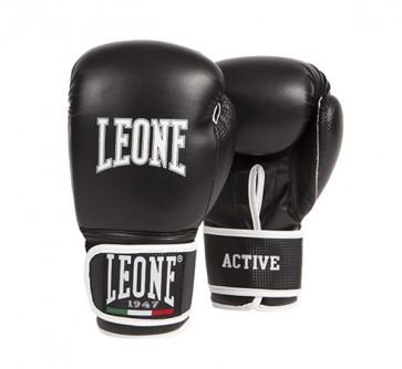 Leone 'Active' guantoni 10oz neri