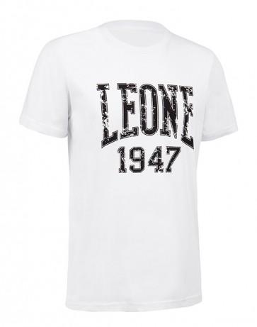 Leone 'Logo' maglia bianca