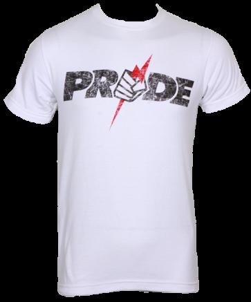 Pride FC 'Logo' maglia bianca