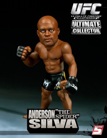 Round 5: Anderson 'The Spider' Silva action figure