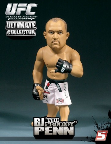 Round 5: BJ 'The Prodigy' Penn action figure
