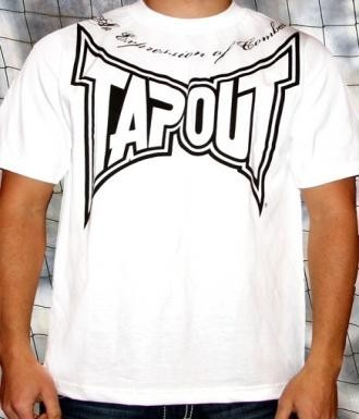 Tapout '3rd Strike' maglia bianca