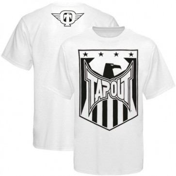 Tapout 'Shield' maglia bianca