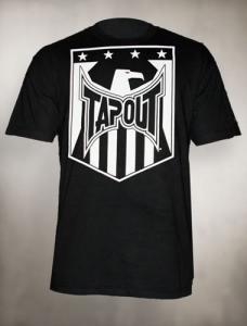 Tapout 'Shield' maglia nera