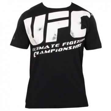 UFC 'Distressed' maglia nera