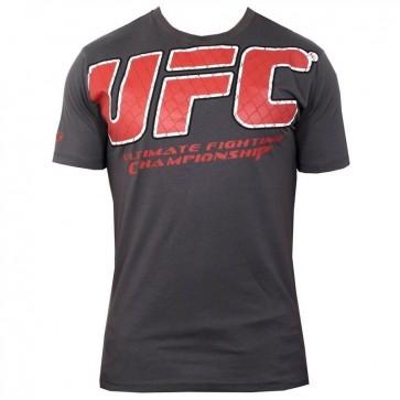 UFC 'Raised Cage' maglia grigia