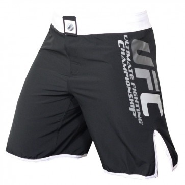 UFC 'Solid Colour' pantaloncini neri