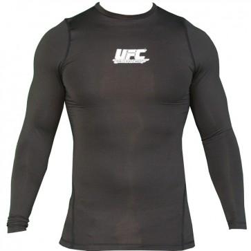 UFC 'Team' rashguard nera maniche lunghe