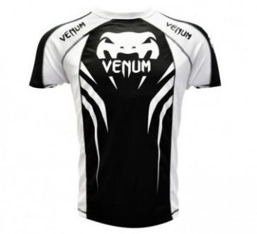 Venum 'Electron 2.0' maglia nera e bianca (Coolmax)