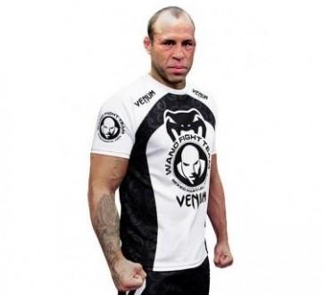Venum 'Wand Training' maglia nera e bianca (Coolmax)