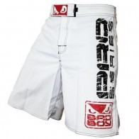 Bad Boy 'Capo II' pantaloncini bianchi