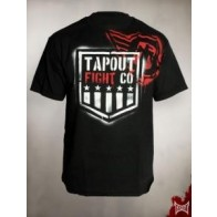 Tapout 'Branded' maglia nera