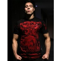 Tapout 'The Outlaw' maglia nera