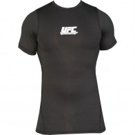 UFC 'Team' rashguard nera maniche corte