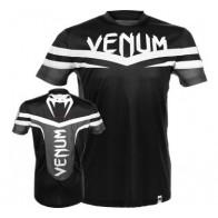 Venum 'Sharp' maglia nera e bianca (Dry Tech)