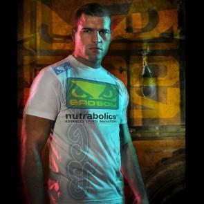 Bad Boy 'Shogun UFC 104 Walk-in' maglia bianca