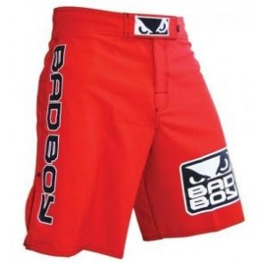 Bad Boy 'World Class Pro II' pantaloncini rossi