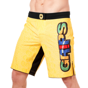 Grips 'Yellow Croco' pantaloncino