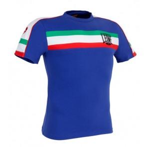Leone 'Italian Flag' maglia blu