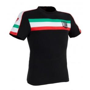 Leone 'Italian Flag' maglia nera