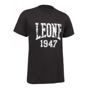 Leone 'Logo' maglia nera