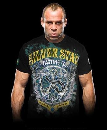 Silver Star 'Wanderlei Silva II' shirt black