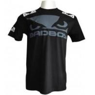 Bad Boy 'Walk-in' shirt black