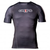 Grips 'Wasp' rashguard short sleeves black