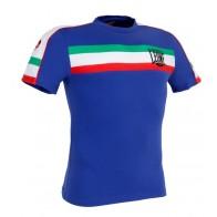 Leone 'Italian Flag' shirt blue
