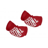 Leone elbow pads red