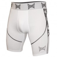 Tapout compression shorts white