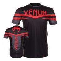 Venum 'Sharp' shirt black and red (Dry Tech)