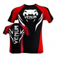 Venum 'Electron 2.0' rashguard short sleeves black