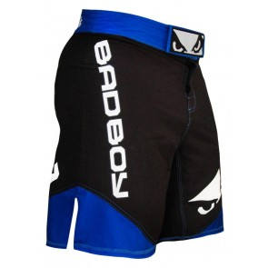 Bad Boy 'Legacy II' fight shorts black and blue