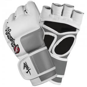 Hayabusa 'Tokushu' MMA gloves white