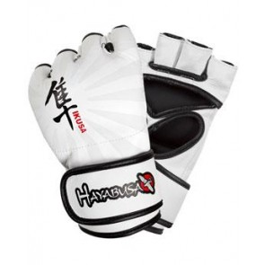 Hayabusa 'Ikusa' MMA gloves white