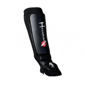 Hayabusa shin/instep guards black