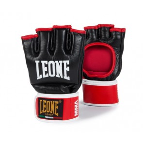 Leone MMA gloves black/red