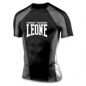 Leone rashguard black and grey