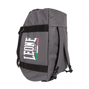 Leone gym bag/backpack grey