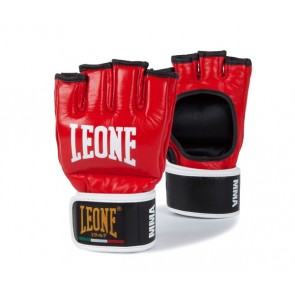 Leone MMA gloves red
