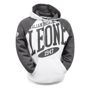 Leone 'Explosion' hoodie white