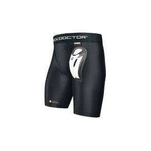 Shock Doctor core compression short with Bio-Flex cup