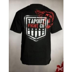Tapout 'Branded' shirt black