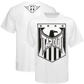 Tapout 'Shield' shirt white