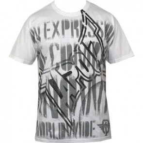 Tapout 'The Message' shirt white